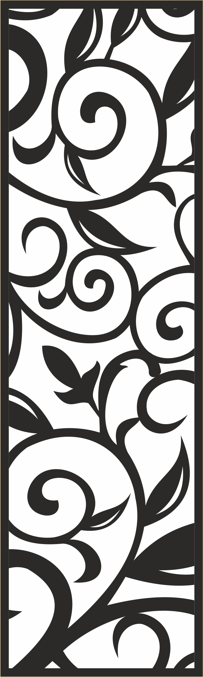 Seamless Floral Pattern CDR File
