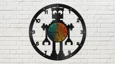 Robot Clock CDR File