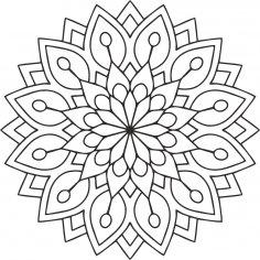 Mandala Des Flower CDR File
