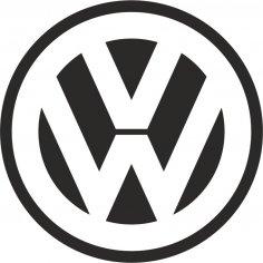 Volkswagen Logo Vector CDR File