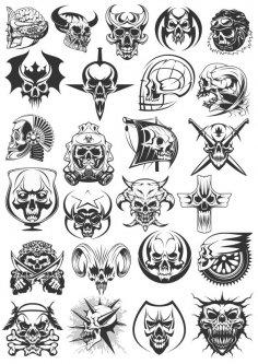 Skulls Dead Heads CDR File
