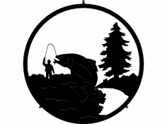 Fishing (1) dxf File