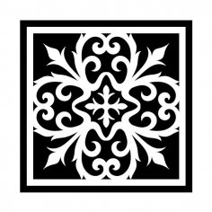 Stencil design Great for the laser cutter dxf File