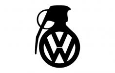 Volkswagen Grenade dxf File