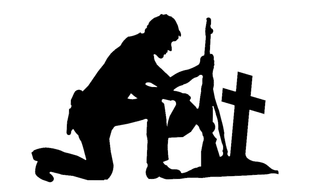 Soldier With Cross Dxf File Free Download 3axis Co