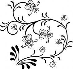 Floral Design 22 EPS File