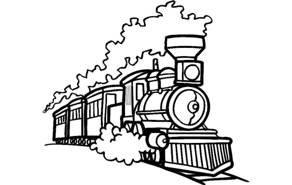 Train Dxf File Free Download