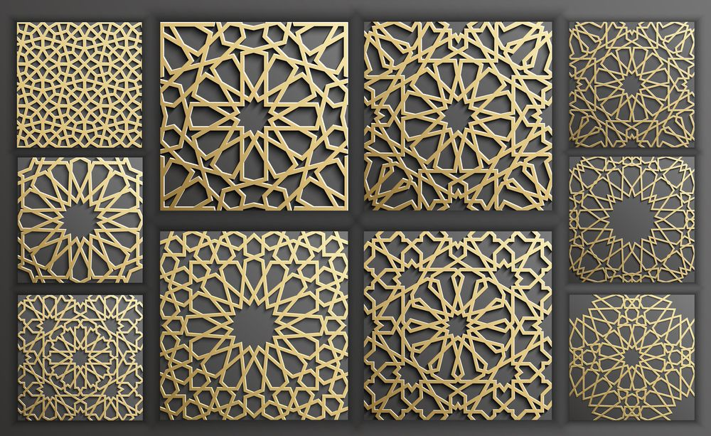 Islamic scrollwork pattern dxf file free download 3axis.co