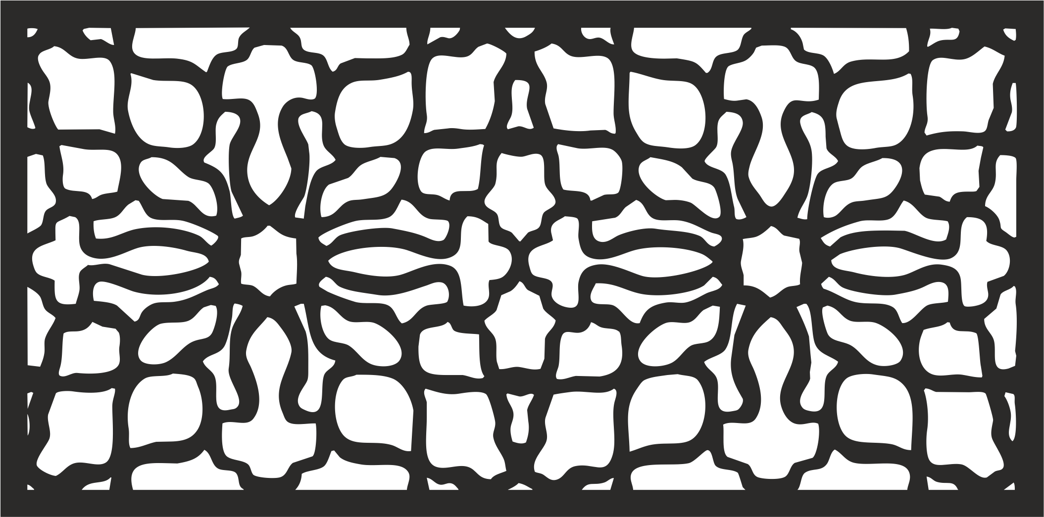 Abstract Laser Cut Pattern Background Vector Free Vector
