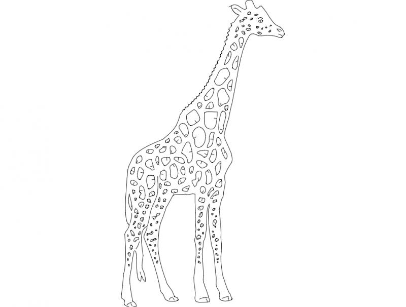 Girafa dxf File