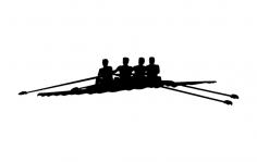 Rowing Team dxf File