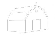 Barn dxf File