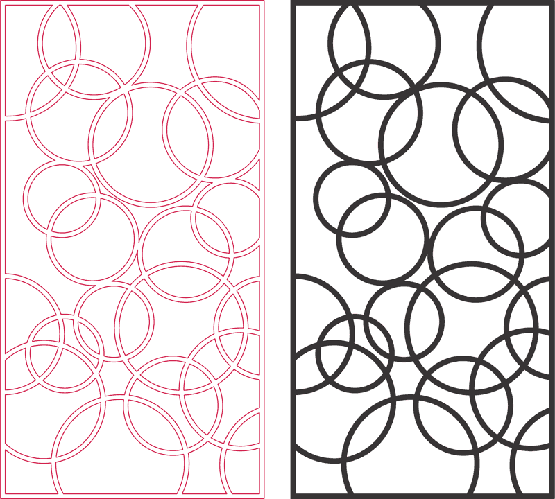 3D Grille Panel DXF File Free Download - 3axis co