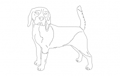 Beagle good dxf File