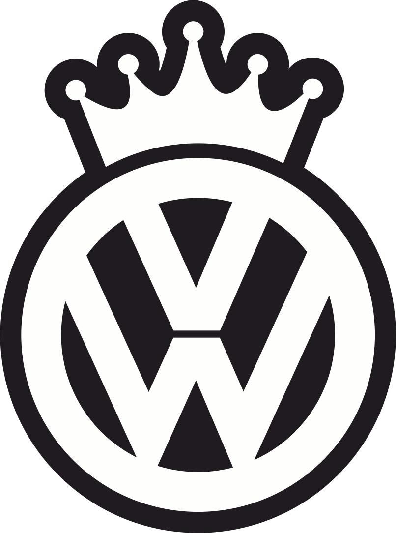 VW King Decal Sticker Free Vector Cdr Download