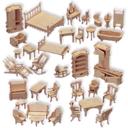 Doll House Furniture 2 Dxf File Free Download 3axis Co