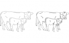 Farm Image dxf File