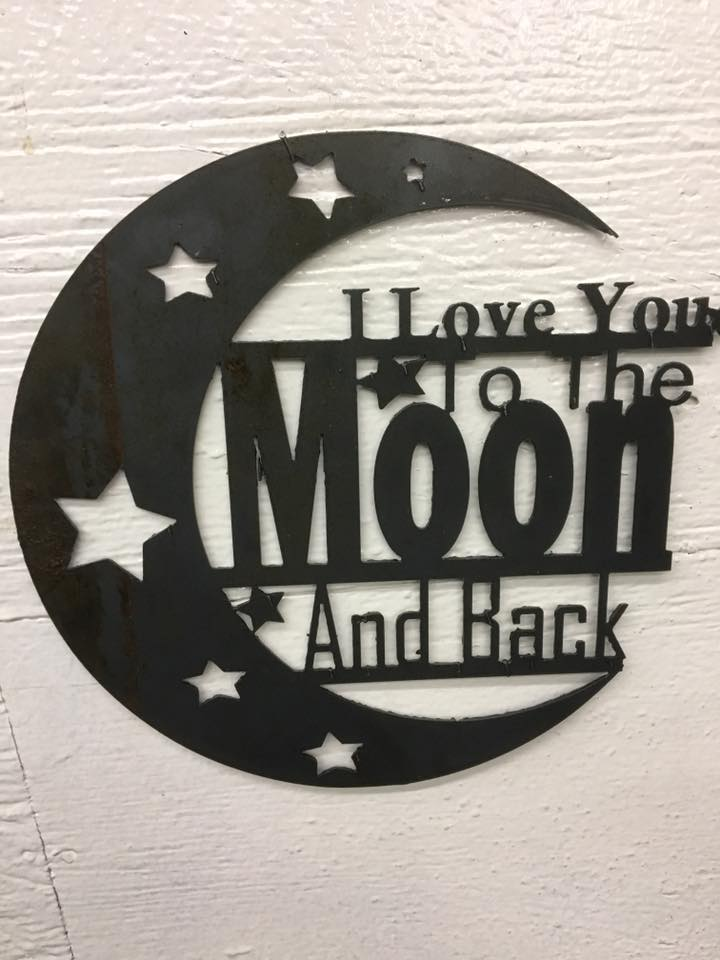 i love you to moon and back dxf file free download