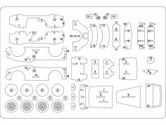 Car Laser dxf File