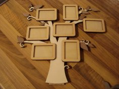 Photo Frame Tree CDR File