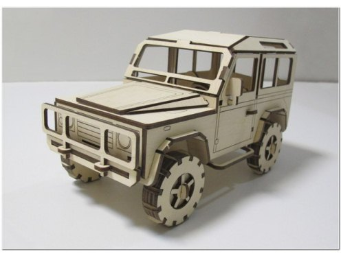 Laser Cut Land Rover Defender DXF File Free Download - 3axis co