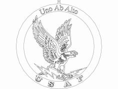 Aguia 5 dxf File