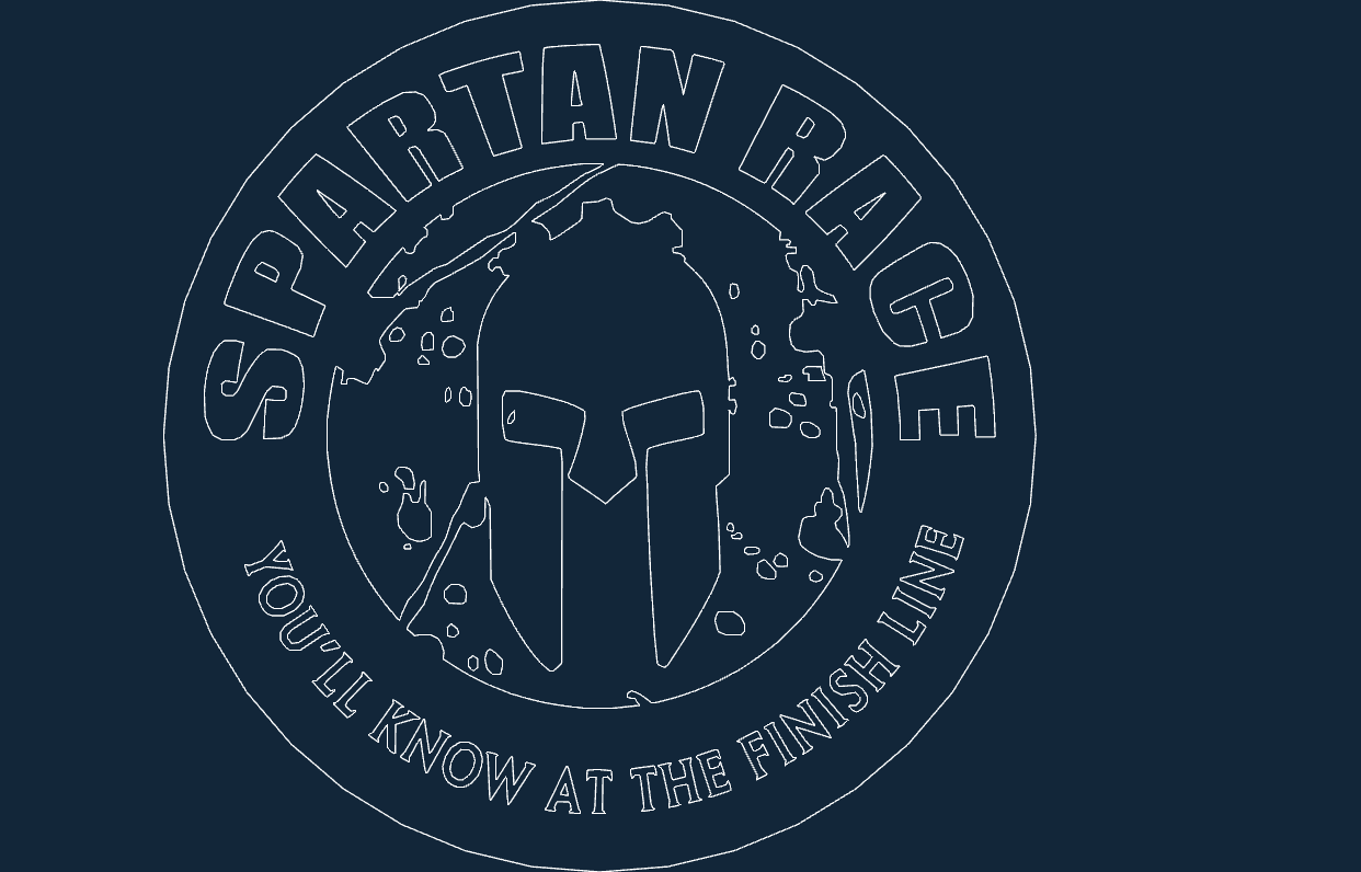 Spartan Race 01 Dxf File Free Download 3axis Co